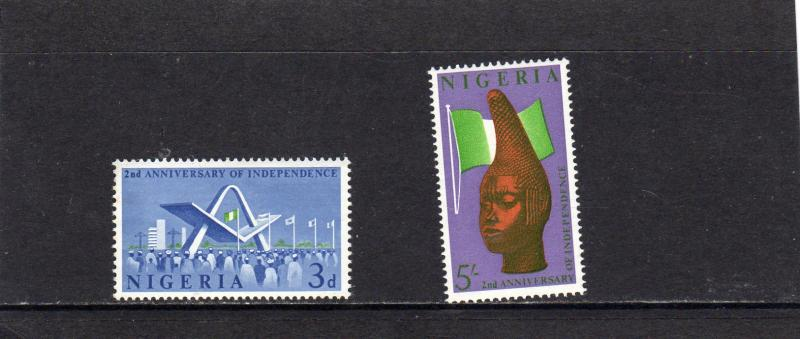 Nigeria 1962 2nd Anniv of Indpendence MNH