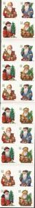 US Stamp - 2001 19th Century Santas - Booklet Pane of 20 Stamps #BK286