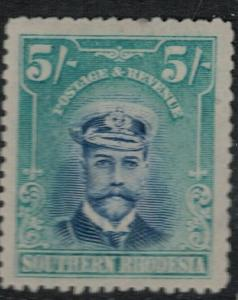 South Rhodesia 1924-1930 SC 14 Mint Stamp SCV $97.50