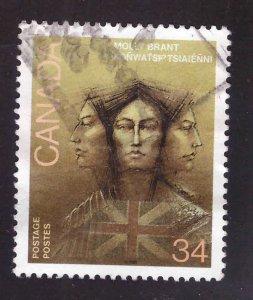 Canada Scott 1091 Used Art stamp