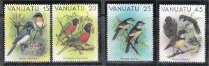 Vanuatu 1982 Sc 319-22 Birds MNH