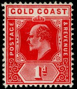 GOLD COAST SG60, 1d red, M MINT. Cat £21.