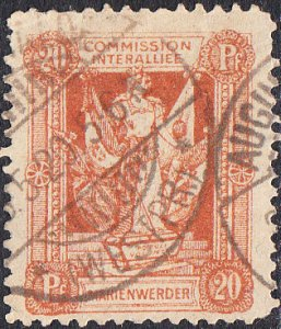 Germany - Marienwerder  #4  Used