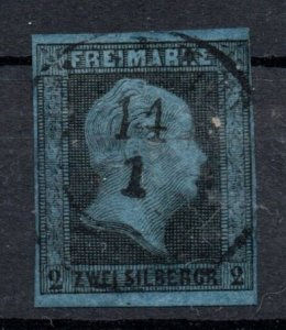 Prussia 1850-1856 #4 VF *USED*