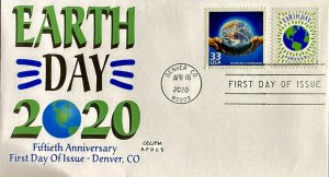 AFDCS 5459 Earth Day with CTC Earth Day Denver, Colorado 4 Bar CXL