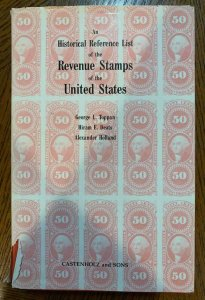 An Historical Reference List of the Stamps of the US 1990 ,Stamp Philately Book
