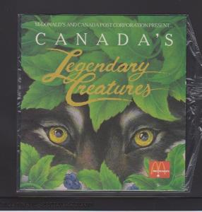 CANADIAN THEMATIC COLLECTION-LEGENDARY CREATURES IN 1990  LOT#19