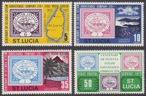 St. Lucia 320-323 MNH CV $2.25