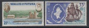 Wallis & Futuna Islands, Scott C13-C14, MLH