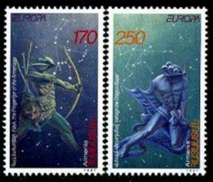 HERRICKSTAMP ARMENIA Sc.# 560-61 Europa 1997 Mint NH