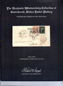 Siegal Auction Sale  of Confederate Postal History
