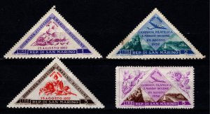 San Marino 1952 Stamp Day and Philatelic Exhibition, Part Set [Unused]