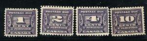 C J11-14  Mint Complete Set VF 1933-34 PD  CV($165.00)