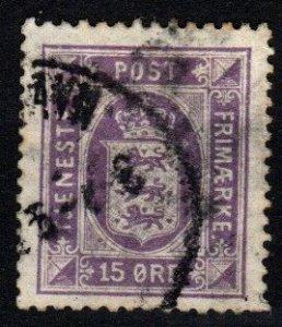 Denmark #O23 F-VF Used CV $37.50 (X8947)