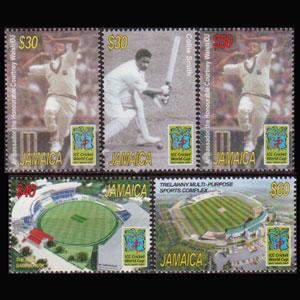 JAMAICA 2006 - Scott# 1062-6 Crickets Set of 5 NH