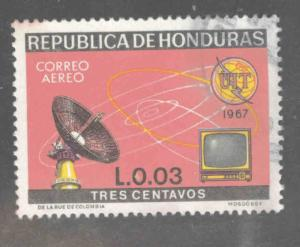 Honduras  Scott C438 Used airmail stamp