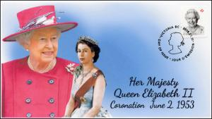 2016, Canada FDC, Queen Elizabeth II, Birthday, 16-012