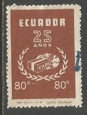 ECUADOR 846 VFU Z1513-2