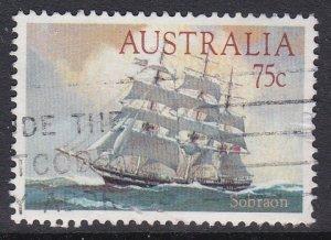 Australia #896 F-VF Used Clipper ship Sobraon