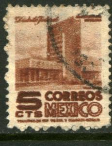 MEXICO 857 5cents 1950 Definitive 1st Printing wmk 279 U (72