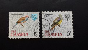 Gambia 1966 Birds Used