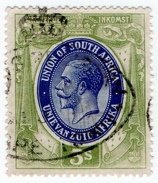 (I.B) South Africa Revenue : Duty Stamp 3/-
