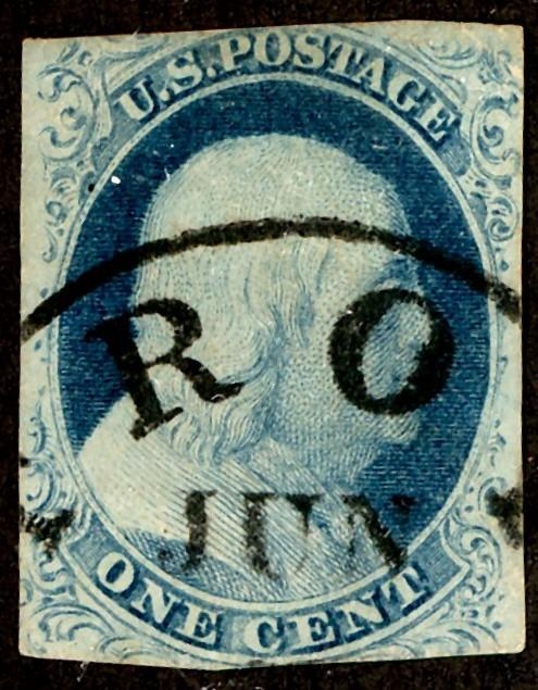U.S. #9 Used Nice Date Cancel
