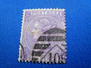 GREAT BRITAIN  -  SCOTT #51  -  Used      (brig)