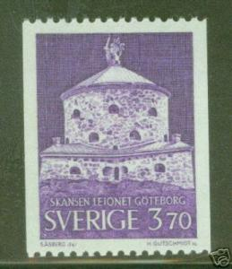 SWEDEN Lion Fortress Gothenburg stamp Scott 720 MNH**