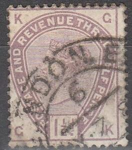Great Britain #99  F-VF Used CV $42.50  (S5740)