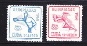 Cuba C212-C213 Set MH Sports, Olympics (B)