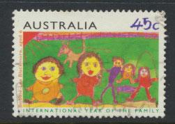 Australia SG 1450  Used  Year of Family