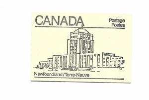 Canada 1982 - Booklet - Scott #945A