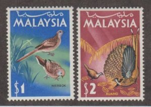 Malaysia Scott #24-25 Stamp - Mint Set