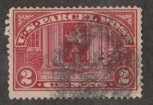U.S. Scott #Q2 Parcel Post Stamp - Used Single