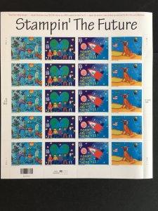 2000 sheet Stampin' the Future Sc# 3414-17