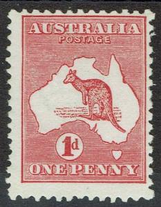 AUSTRALIA 1913 KANGAROO 1D DIE IIA MNH **