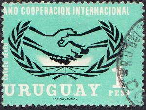 Uruguay #C286 Used