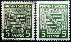 Germany Provinz Sachsen Mi 75Yb used