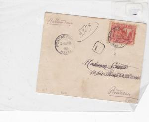 haiti 1909 stamps cover Ref 8592
