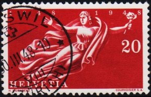Switzerland. 1948 20c S.G.487 Fine Used