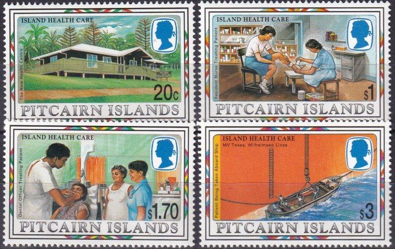 Pitcairn Islands  #465-8  MNH CV $8.25 (Z6165)