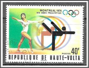 Upper Volta #387 Montreal Olympics CTO