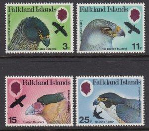 Falkland Islands 306-9 Birds of Prey mnh