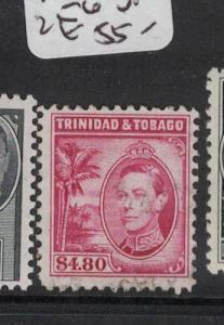 Trinidad & Tobago KGVI $4.80 SG 256 VFU (2doq)