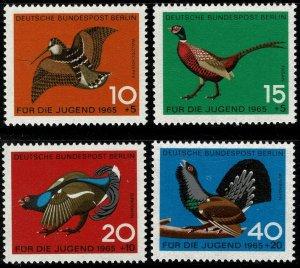 GERMANY BERLIN 1965 CHILD WELFARE SET MINT (NH) SG B261-B264 P.14 SUPERB