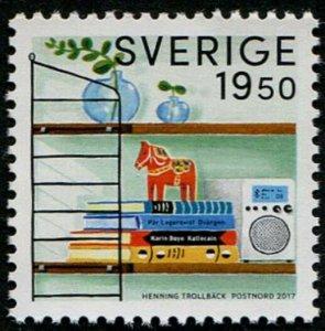 HERRICKSTAMP NEW ISSUES SWEDEN Sc.# 2791 Retro Designs 2017