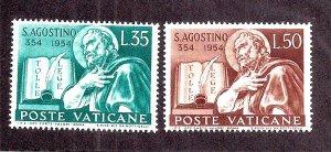 VATICAN CITY SC# 187-88  FVF/MLH