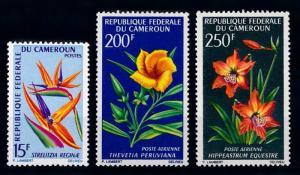 [64960] Cameroon Cameroun 1967 Flora Flowers Blumen  MNH