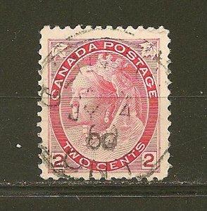 Canada 77 Queen Victoria Used